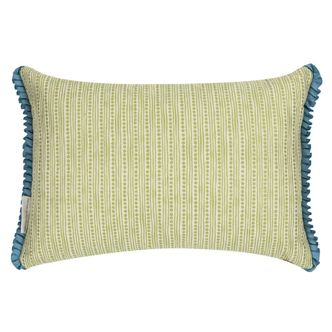 Wickham Lime Oblong Cushion