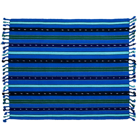 Set of 6 Handwoven Striped