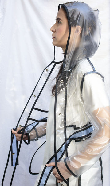 Gloria Rain Coat [Clear]