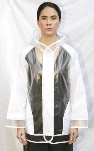 Maude Rain Coat [White]