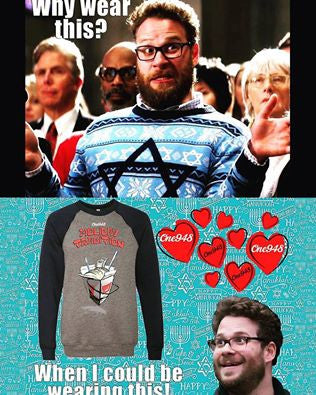 Help One948 Spread Hanukkah Cheer--Get Seth Rogen a Shirt!