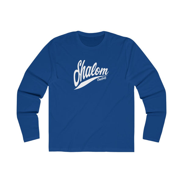 Shalom (Long Sleeve Crew Tee)