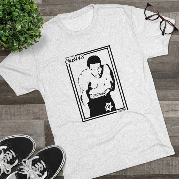 The Hebrew Hammer: Max Baer (Tri-Blend Crew Tee)