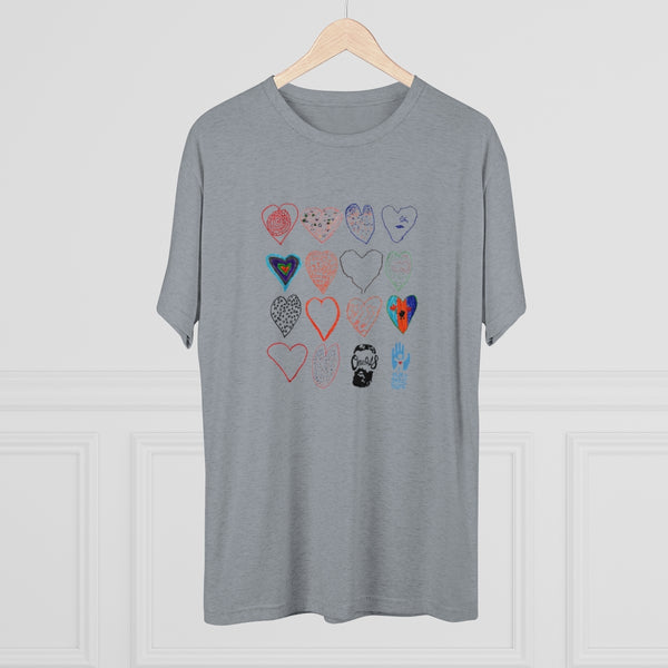 Save a Child's Heart (Tri-Blend Crew Tee)