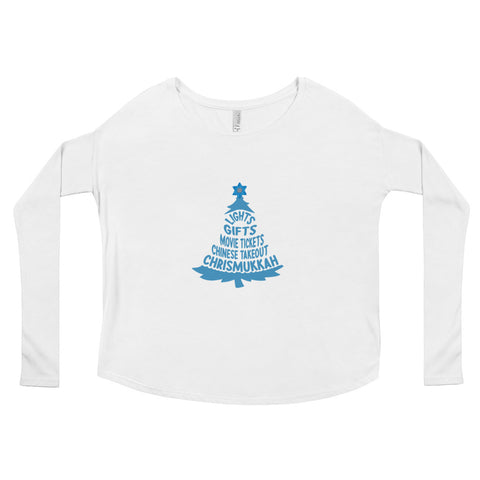 Winter Holiday Tradition (Ladies' Long Sleeve Tee)