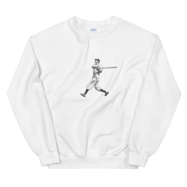 Hebrew Hammer Swing (Unisex Sweatshirt)