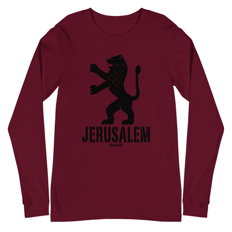 Jerusalem Lion Unisex Long Sleeve Tee