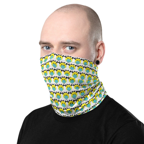 Smile  (Pattern Neck Gaiter)
