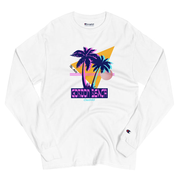 90's Gordon Beach (Champion Long Sleeve Shirt)