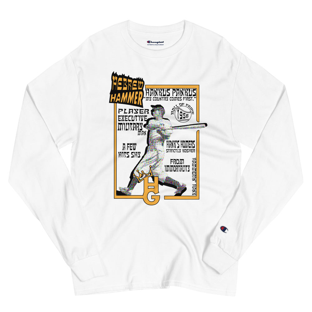 Hank Greenberg (Men's Champion Long Sleeve Shirt)