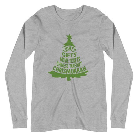 Winter Tradition Unisex Long Sleeve Tee