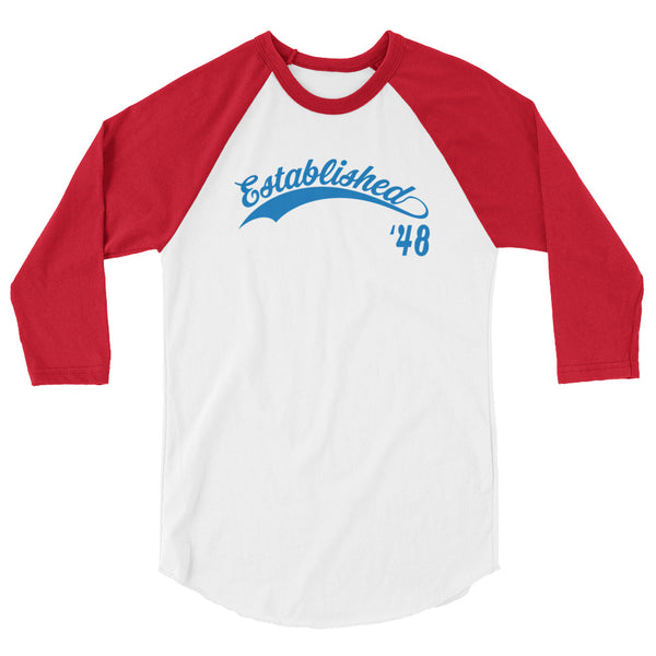 Established '48 (3/4 sleeve raglan shirt)