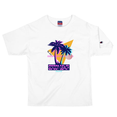 Men's 90's Gordon Beach Champion Crew T-Shirt