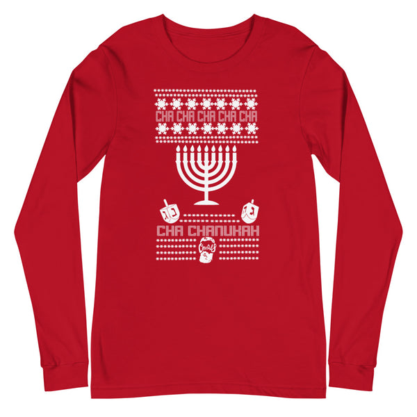 Ugly Hanukkah (Unisex Long Sleeve Tee)