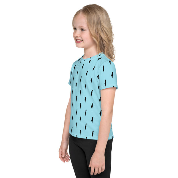 Israel Map All Over Print (Kids T-Shirt)