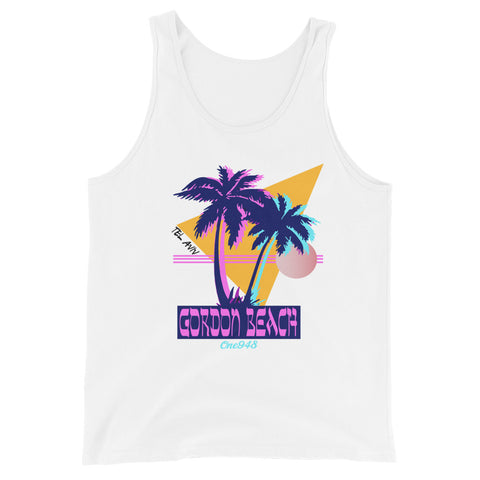 90'S Gordon Beach (Unisex Tank Top)