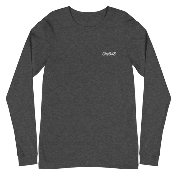 Embroidered One948 (Unisex Long Sleeve Tee)