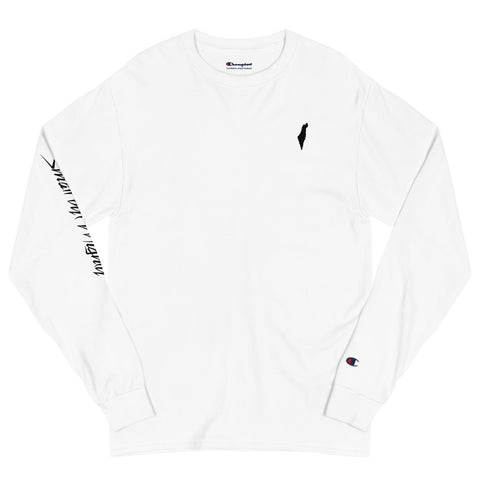 Small but Mighty (Men's Champion Long Sleeve Shirt)
