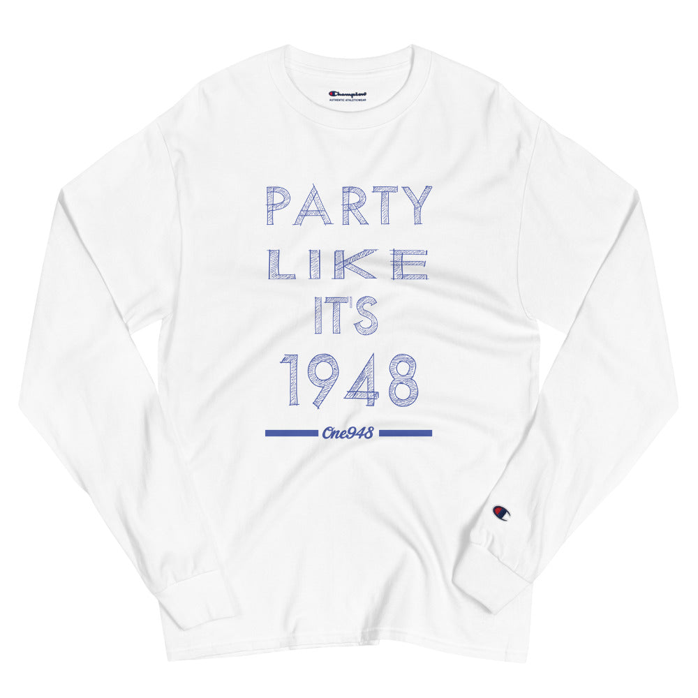Men's Party Like It's 1948 Champion Long Sleeve Shirt