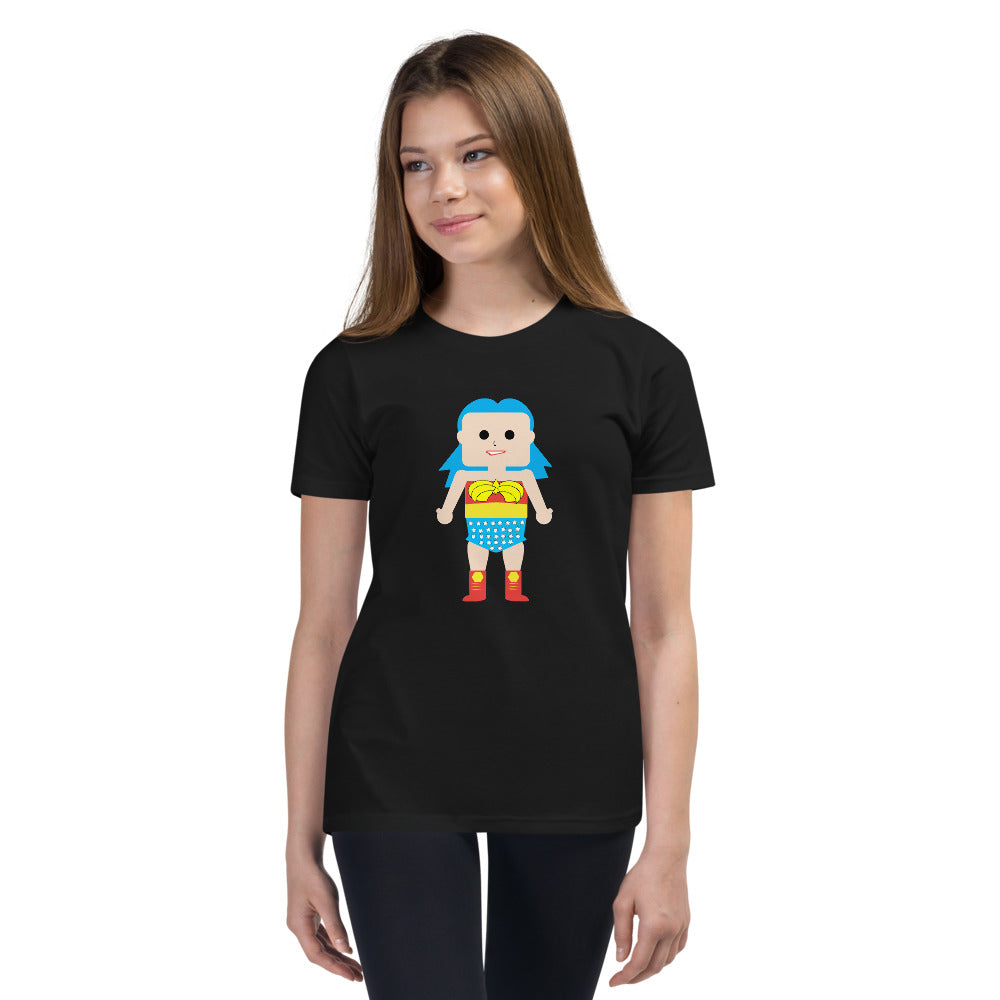 Wonder Woman (Youth Short Sleeve T-Shirt)