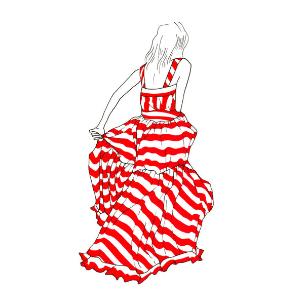 SUMMER DRESSING: THIERRY COLSON SUN DRESS