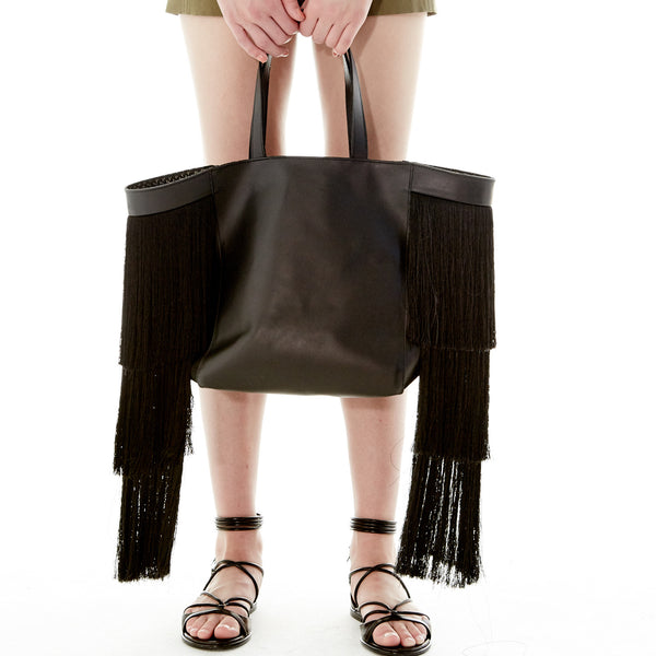 The Perfect Beach / Travel Bag: Hacienda Montaecristo Fringe Tote
