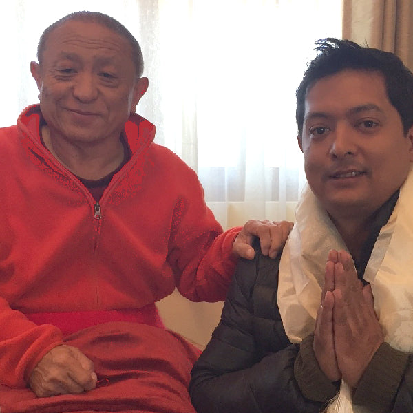 Meeting His Holiness Chokyi Nyima Rinpoche-Eventful, Spiritual Statue Blessing