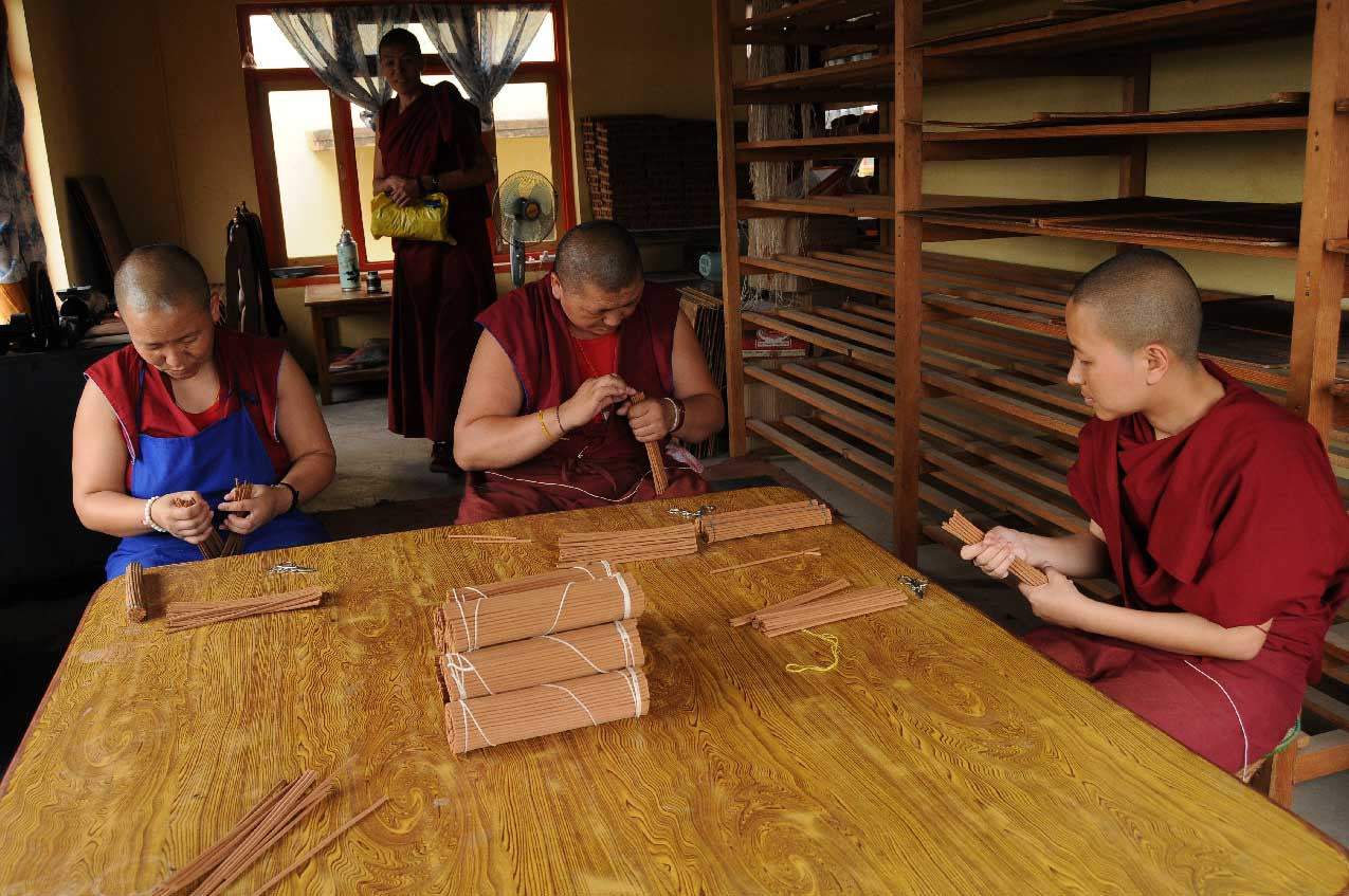 SUPPORT THE NUNNERY FOR A GOOD CAUSE BY ORDERING THE KOPAN NUNNERY TIBETAN INCENSE