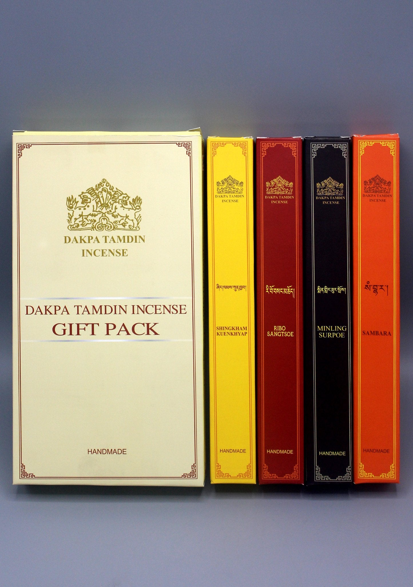 DAKPA TAMDIN TIBETAN INCENSE Since 1969 With the blessings of Dukpoema; goddess of incense