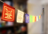 Lucky Symbols Lokta Paper Mini Prayer Flags - NepaCrafts