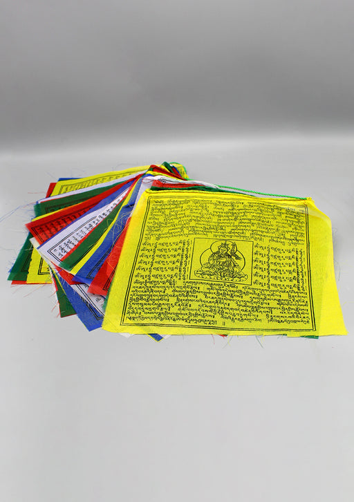 Mixed Deities Tibetan Large Prayer Flags