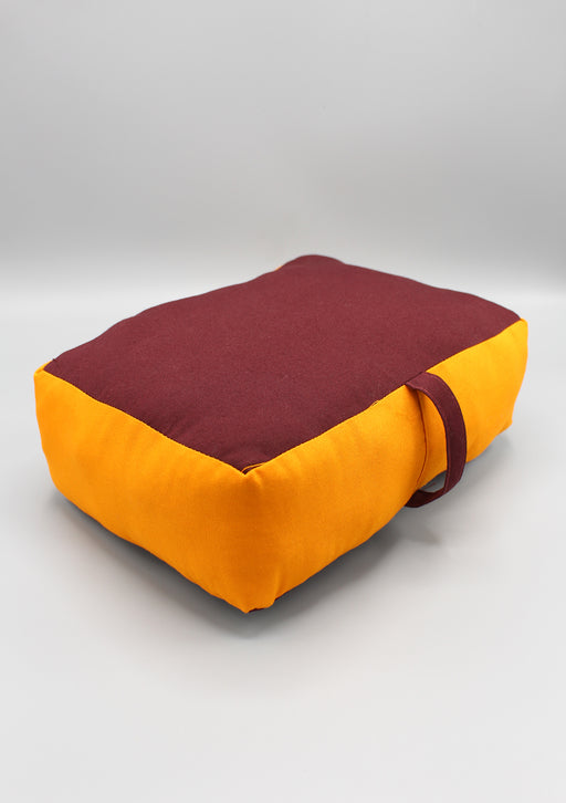 Monk Red Meditation Cushion - nepacrafts