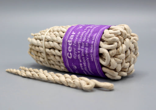 Cedar Rope Incense - nepacrafts