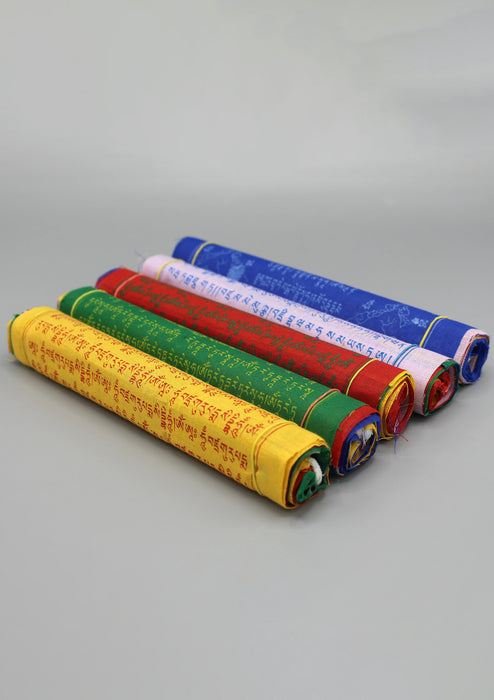 5 Rolls Large Cotton Tibetan Prayer flags