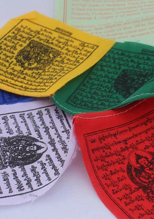 Tibetan Auto Prayer Flags