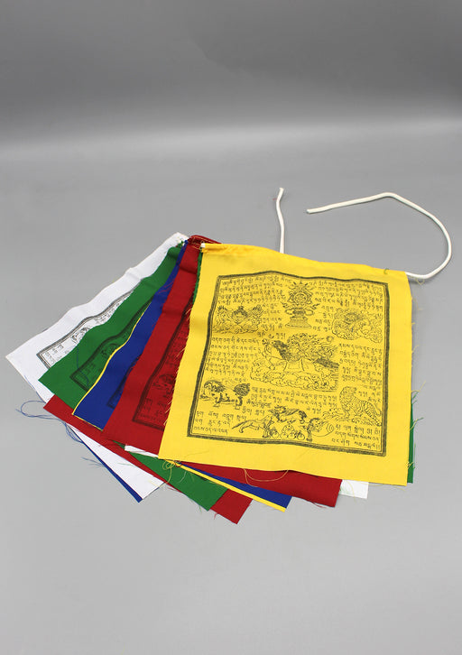Wind horse Prayer Flags