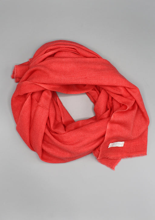 Pure Pashmina Shawl-Red Rose