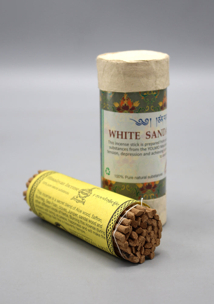 Tibetan White Sandalwood Incense Sticks