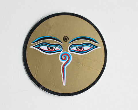 Buddha Eyes Sticker - NepaCrafts