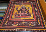Lord Shiva Printed Cotton Wall Hanging Tapestry - NepaCrafts