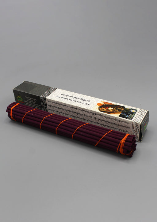 Grey Box Bhutanese Nado Poizokhang Incense - nepacrafts