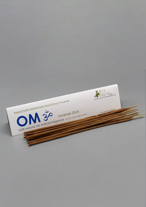 100% Natural NepaCrafts OM Flora Incense Sticks - nepacrafts