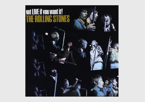 Got Live If You Want It! The Rolling Stones - NepaCrafts