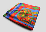 Colorful Cotton Fabric Elephant Printed Wall Hanging Tapestry/ Wall Decor - NepaCrafts