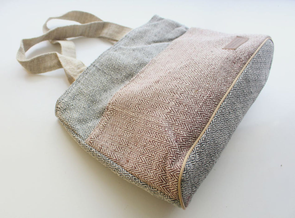Durable Hemp Tote Shopping Bag - nepacrafts