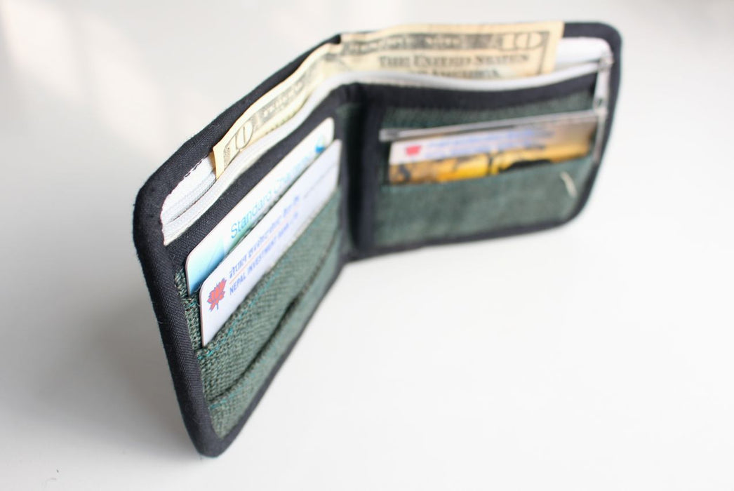Hemp & Nettle Wallets - nepacrafts