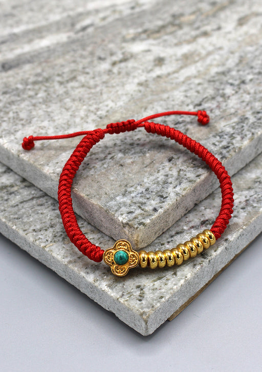 Tibetan Buddhist Protection Knot Bracelet with Counter