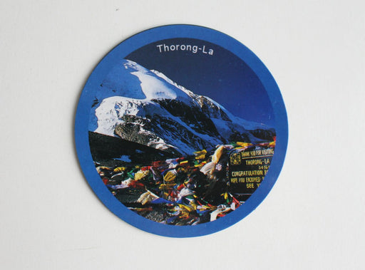 Thorong-La Fridge Magnet - nepacrafts