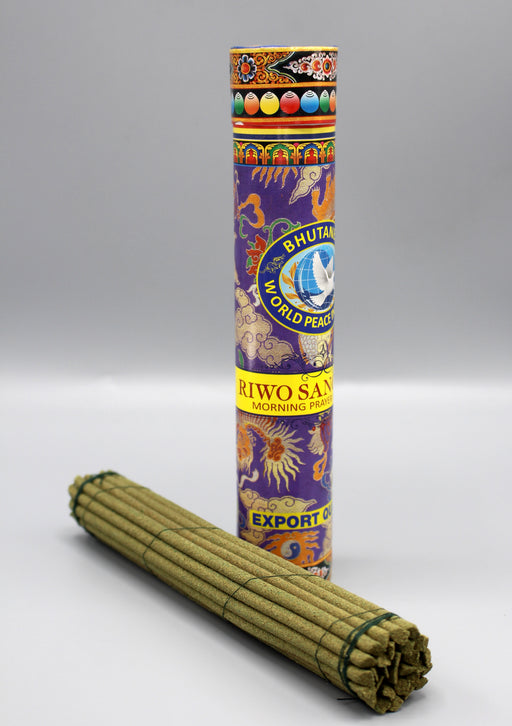 Riwo Sangchoe Morning Prayer Bhutanese Incense - nepacrafts