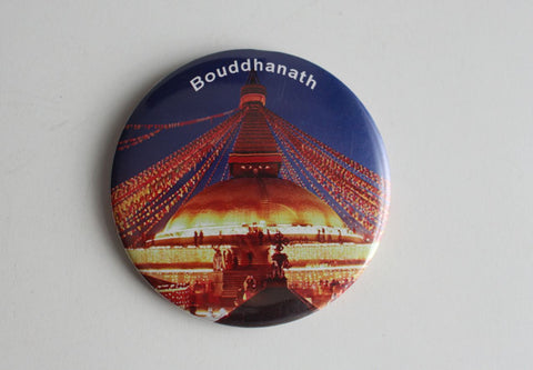 Boudhanath Fridge Magnet - NepaCrafts
